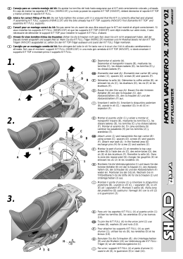HONDA VARADERO XL 1000 V `01 KIT FULLMASTER