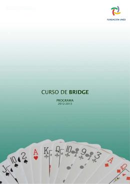 CURSO DE BRIDGE - Fundación UNED
