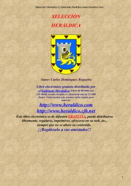 Selección Heráldica (c) Gabinete Heráldico www.heraldico.com