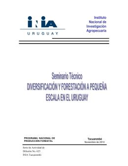 uruguaya - Catálogo de Información Agropecuaria