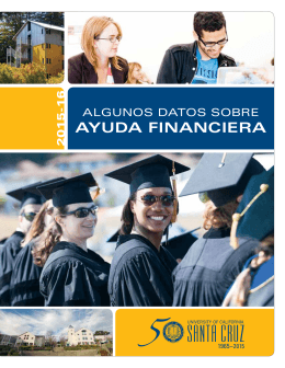 AyUDA FINANCIERA - Financial Aid Office