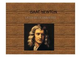 Isaac Newton (1) - El CSIC en la escuela
