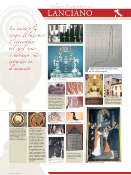 Milagro Eucaristico de Lanciano, Italia, 750 (la Parte 2)