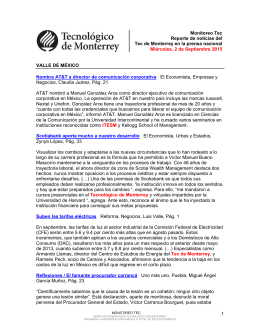 Sep 2, 2015 7:00:41 PM - Tecnológico de Monterrey