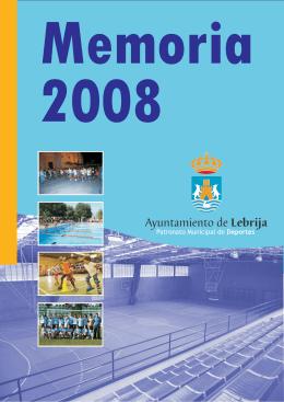 Memoria anual 2008 - Ayuntamiento de Lebrija