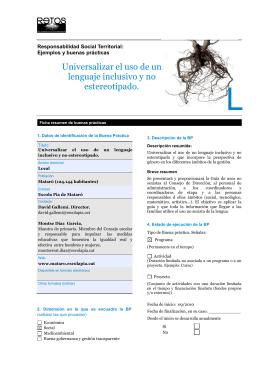 82-Mataro_Universalizar_lenguaje_no_estereotipado ESCOLA PIA
