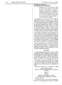 984 DIARIO OFICIAL DE GALICIA No 11 L Martes, 18 de