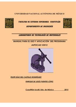 Manual básico Autocad 2012