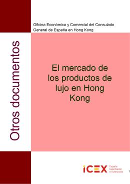 El mercado de los productos de lujo en Hong Kong