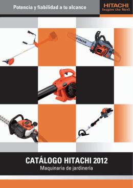 Catálogo en PDF - Hitachi Power Tools Ibérica