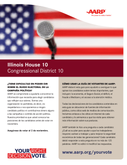 Illinois House 10 Congressional District 10