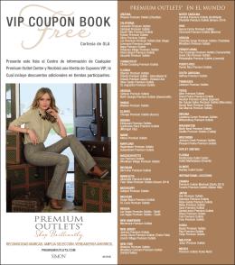 VIP COUPON BOOK