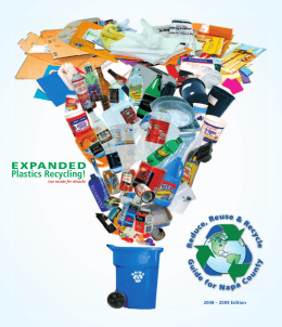 Plastics Recycling! EXPANDED