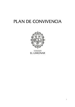 PLAN DE CONVIVENCIA - Colegio El Limonar