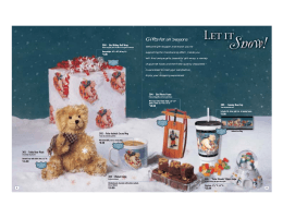 Let it Snow_complete - Easy Fundraising Ideas