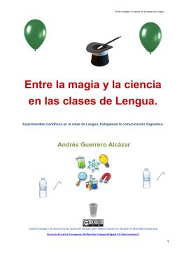 Entre la magia y la ciencia en las clases de Lengua