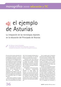 Ç el ejemplo de Asturias