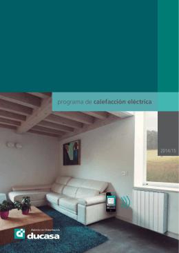 programa de calefacción eléctrica - Ducasa