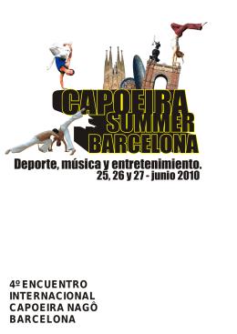 4º encuentro internacional capoeira nagô barcelona
