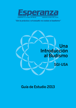 Una Introducción al Budismo - Soka Gakkai International