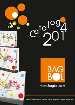 CATALOGO 2014 1 - Bolsas de papel y plastico