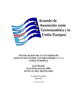 acuerdo de asociación entre centro américa y la unión