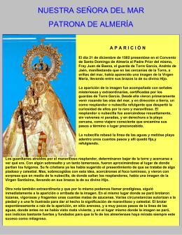 Nuestra Señora del Mar, Patrona de Almería