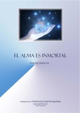portada El Alma es Inmortal