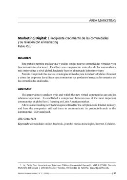 Marketing Digital - Universidad de Palermo