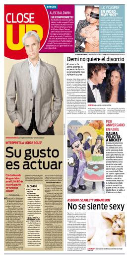 No se siente sexy - El Diario de Coahuila
