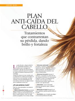 PLAN ANTI-CAÍDA DEL CABELLO