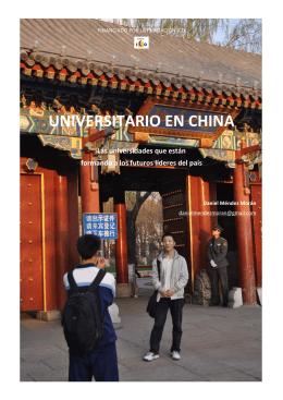 UNIVERSITARIO EN CHINA