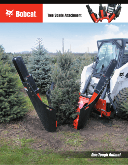 Tree Spade Attachment - Doosan Bobcat Chile SA