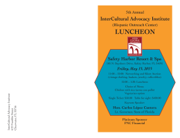 2015 Luncheon invitation with Lt Gov