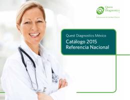 Catálogo 2015 Referencia Nacional