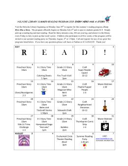 R E A D ! - Holyoke Public Library