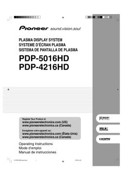 PDP-5016HD PDP-4216HD