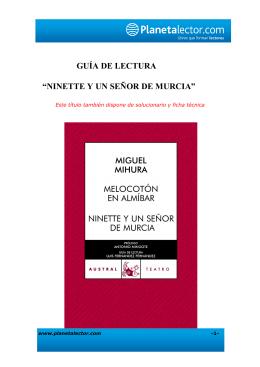Guía Ninette y un señor de Murcia