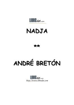 NADJA ** ANDRÉ BRETÓN