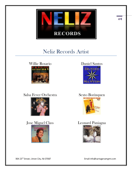 1 Neliz Records Artist