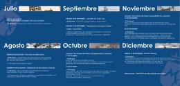 Programa de Actividades - Bicentenario Parroquia de San Antonio