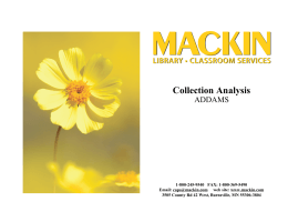 Crystal Reports - Cover.rpt - Mackin Educational Resources