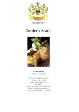 Cordero Asado - Restaurante Duque