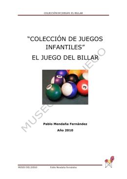 el billar - Museo del Juego