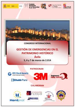 Congreso Avila - Ciudades Patrimonio
