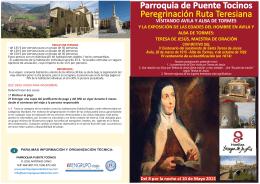 Santa Teresa_viaje a Avila grupo Puente Tocinos
