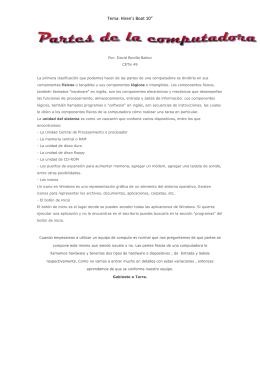 """Tema: Hiren`s Boot 10"""" - (Informática) Realizado por: David Bonilla"""
