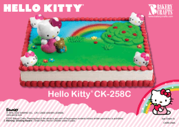 Hello Kitty® CK-258C