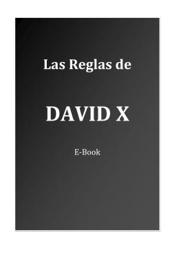 Las reglas de David X - Biblioteca seduccion