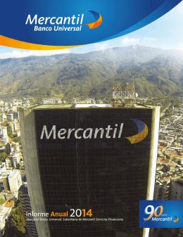 Informe Anual 2014 de Mercantil Banco Universal